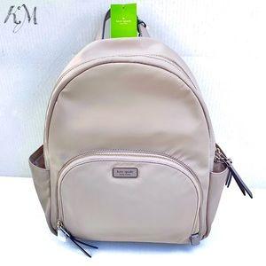 Kate Spade Nylon Backpack - Large - Gray